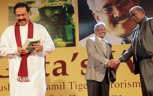 Gotas war book launch Sri Lanka Defence Book