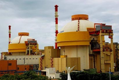 Kudankulam two nuclear reactors