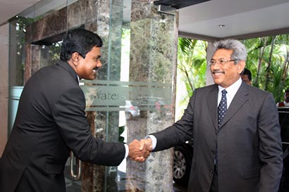 Mr. Gotabhaya Rajapaksa on Colombo city development