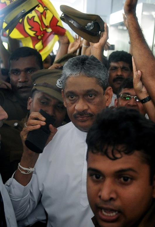 Sarath Fonseka released