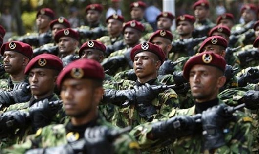 Sri Lanka commandos on third victory day