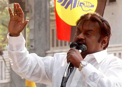 Actor Vijayakanth - DMDK