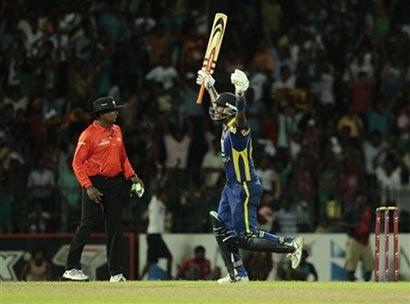 Anjelo Mathews Cricket win