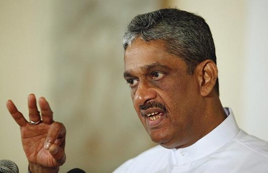 Sarath Fonseka's first press conference after release from bail
