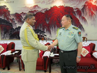 Sri Lanka and China Army co-operation