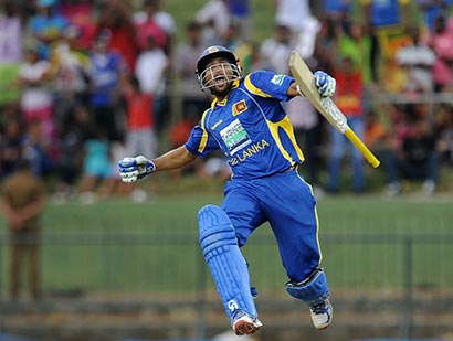 T.M.Dilshan on Cricket victory