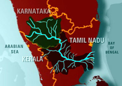 WATER WARS BETWEEN TAMIL NADU AND KARNATAKA