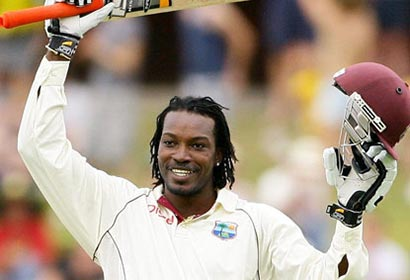 Chris Gayle back to Test Cricket