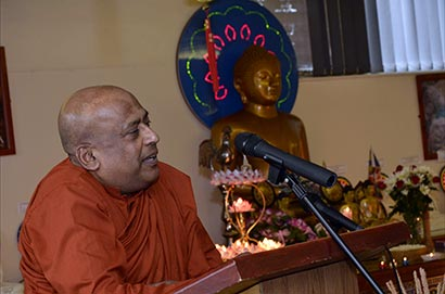 Jubilee celebrations at Birmingham Buddhist Maha Vihara