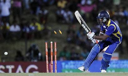 Kumar Sangakkara wicket