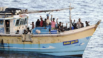 Lankan asylum seekers