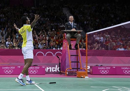 Niluka Karunaratne at London Olympics 2012