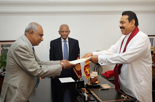 President Rajapaksa appoints former SG Sarath Fernando as new AG