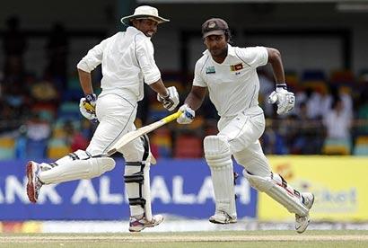 Kumar Sangakkara and T.M. Dilshan