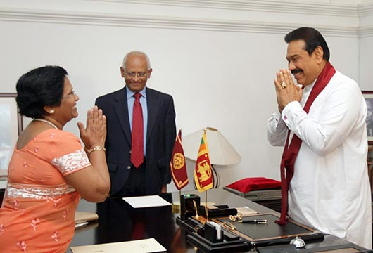 Shanthi Eva Wanasundara Sworn as Supreme Court Judge