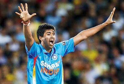 Spinner Rahul Sharma - Cricket India