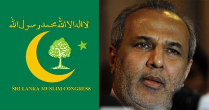 Sri Lanka Muslim Congress - Rauf Hakeem