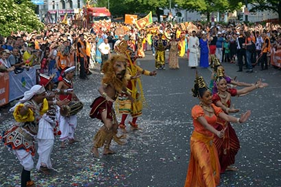 Sri Lanka wins the historical First Place in one of the greatest Pageants in the World, Carnival of Cultures in Berlin, beating 100 Countries