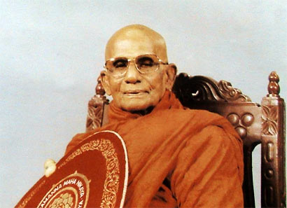 Most Venerable Weweldeniye Medhalankara Thero