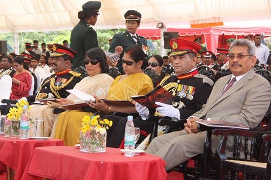Mr. Gotabhaya Rajapaksa at Gemunu watch