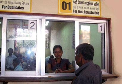Registration of Persons Department - Sri Lanka