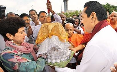 Sacred Kapilavastu Relics in Sri Lanka