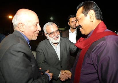Sri Lanka President at NAM summit - Tehran