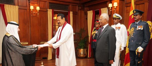 Eight new diplomats present credentials
