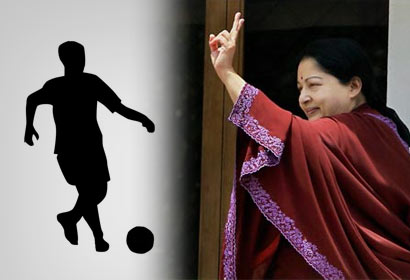 Jayalalitha against Sri Lanka Football Players