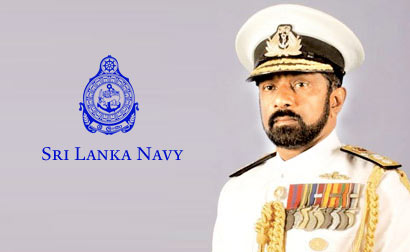 Rear Admiral Jayanath Colombage - The new Commander of the Navy