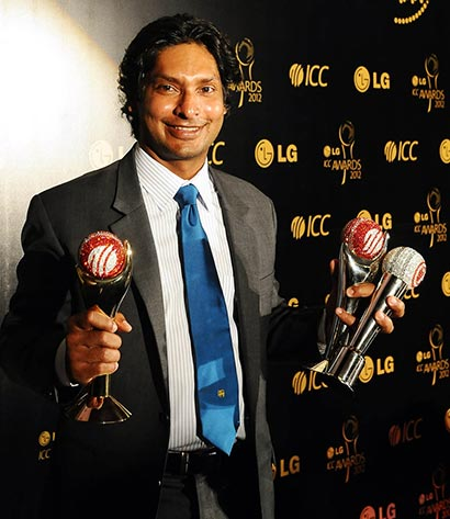 Kumar Sangakkara wins big at ICC awards