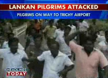 Sri Lanka pilgrims attacked in Tamilnadu