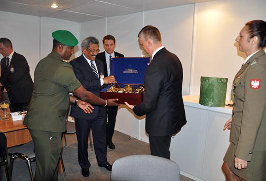 Secretary Defence meets Polish Defence Officials