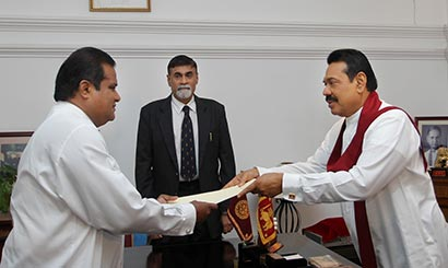 New Chief Minister Abdul Majeed - UPFA