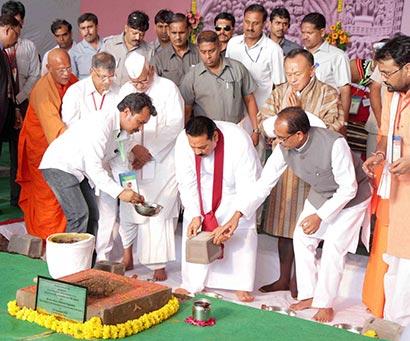 President Rajapaksa visits Sanchi