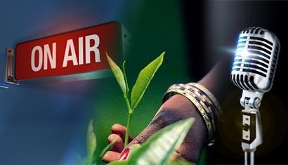 Radio program on Ceylon Tea