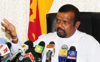Minister S.M. Chandrasena