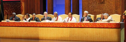 President Mahinda Rajapaksa officially inaugurated the 58th Commonwealth Parliamentary Association