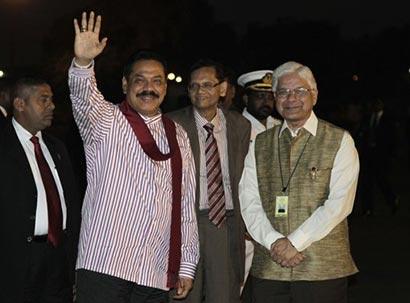 Sri Lanka President in India