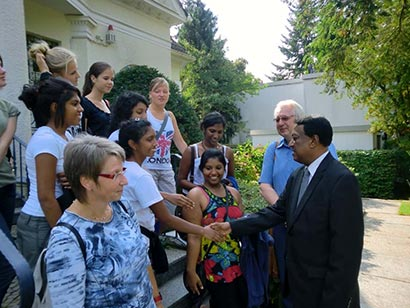 Student Exchange Programme between Sri Lanka and AG Gymnasium Isernhagen, Germany