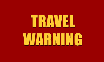 Travel Warning