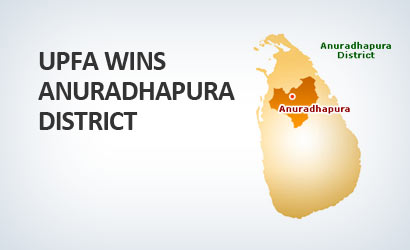 UPFA wins Anuradhapura district