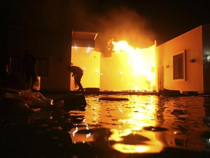 US Ambassador To Libya And Three Others Killed In Attack On Consulate