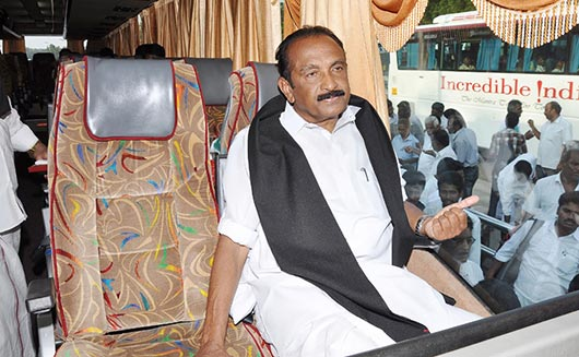 Vaiko's Anti Sri Lanka Movement