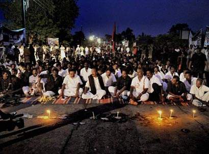 Vaiko's anti Sri Lanka protest