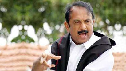 Vaiko Arrested
