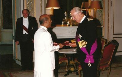 Ambassador Amza