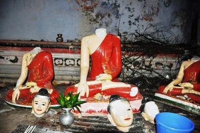 Buddhist Temple Attack - Bangladesh