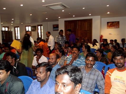 Guests at the Consular Gathering