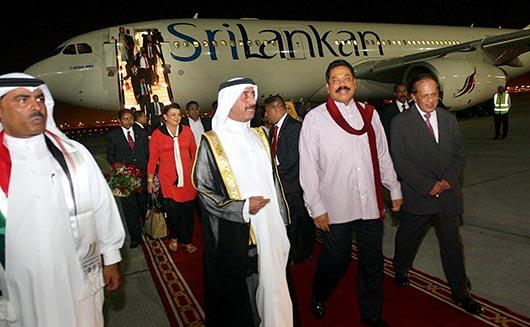 President Rajapaksa visits Dubai to participate World Energy Forum